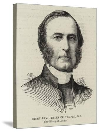 Right Reverend Frederick Temple, Dd--Stretched Canvas Print