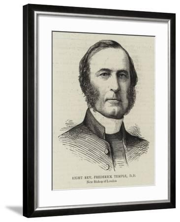 Right Reverend Frederick Temple, Dd--Framed Giclee Print