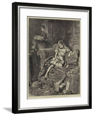 A Special Favourite of St Valentine--Framed Giclee Print