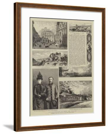 Austria-Hungary in Word and Picture--Framed Giclee Print