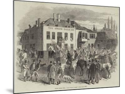 Epsom Races, 1846, The Spread Eagle--Mounted Giclee Print