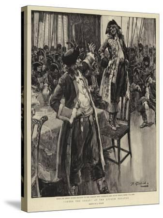 Peter the Great at the Lyceum Theatre--Stretched Canvas Print