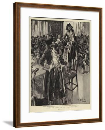 Peter the Great at the Lyceum Theatre--Framed Giclee Print