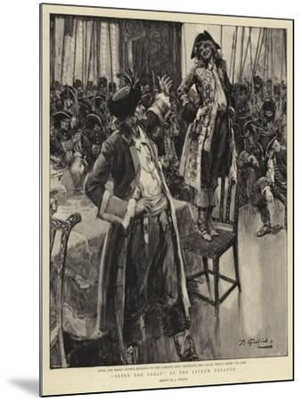 Peter the Great at the Lyceum Theatre--Mounted Giclee Print