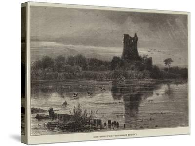 Ross Castle, from Picturesque Europe--Stretched Canvas Print