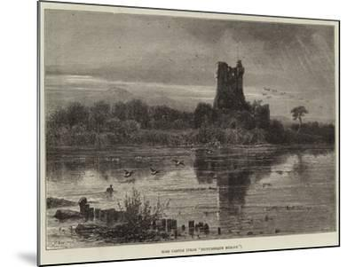 Ross Castle, from Picturesque Europe--Mounted Giclee Print