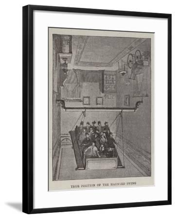 True Position of the Haunted Swing--Framed Giclee Print