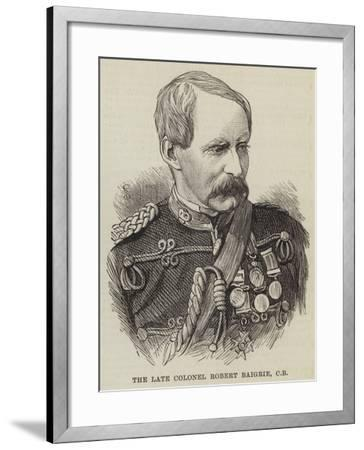 The Late Colonel Robert Baigrie--Framed Giclee Print