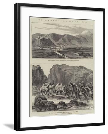 The North-West Frontier of India--Framed Giclee Print