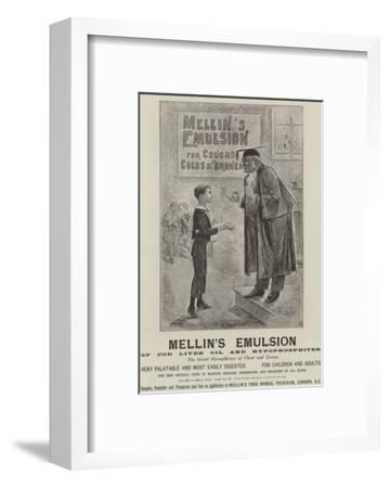 Advertisement, Mellin's Emulsion--Framed Giclee Print