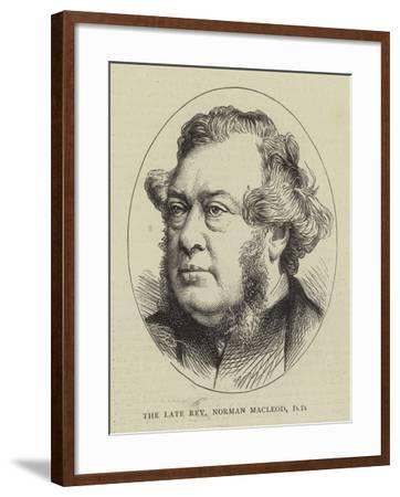 The Late Reverend Norman Macleod--Framed Giclee Print
