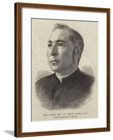 The Right Reverend D Lewis Lloyd--Framed Giclee Print