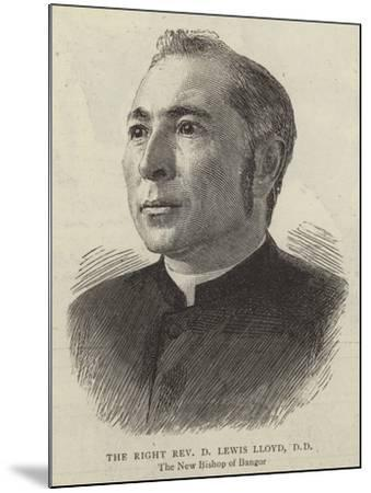 The Right Reverend D Lewis Lloyd--Mounted Giclee Print