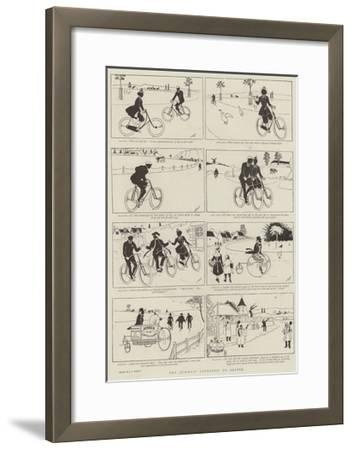 The Quickest Courtship on Record--Framed Giclee Print