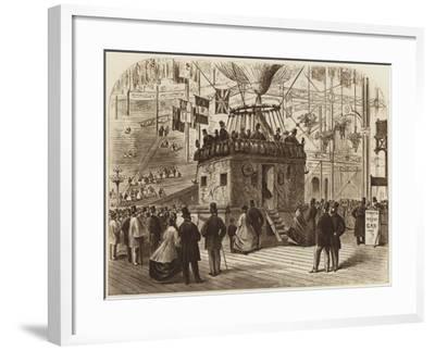 The Car of Nadar's Balloon, 1863--Framed Giclee Print