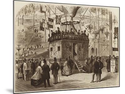 The Car of Nadar's Balloon, 1863--Mounted Giclee Print