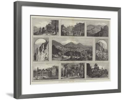 Baden-Baden and its Neighbourhood--Framed Giclee Print