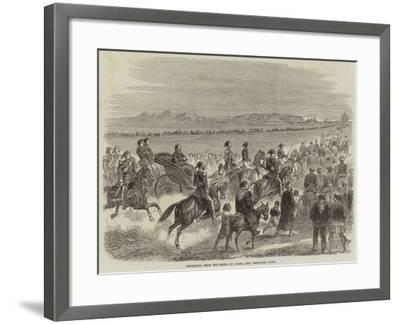 Returning from the Races at Cairo--Framed Giclee Print