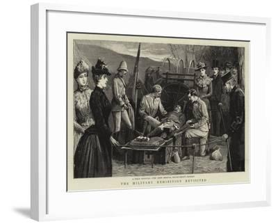 The Military Exhibition Revisited--Framed Giclee Print
