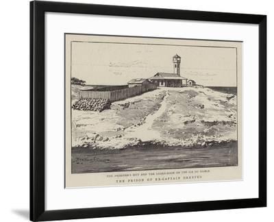 The Prison of Ex-Captain Dreyfus--Framed Giclee Print