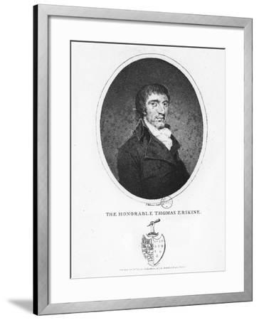 Thomas Erskine, 1st Baron Erskine--Framed Giclee Print