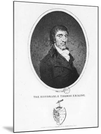 Thomas Erskine, 1st Baron Erskine--Mounted Giclee Print