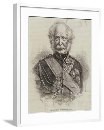 The Late Field Marshal Lord Gough--Framed Giclee Print