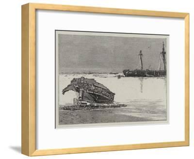 The Recent Hurricane at Samoa--Framed Giclee Print