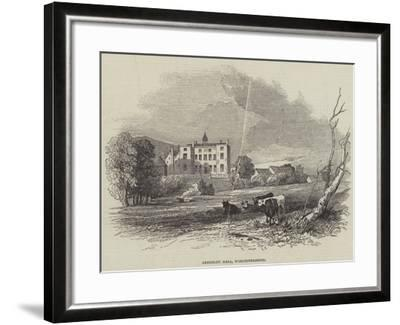 Abberley Hall, Worcestershire--Framed Giclee Print