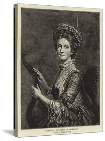 Caroline, Countess of Seaforth--Stretched Canvas Print