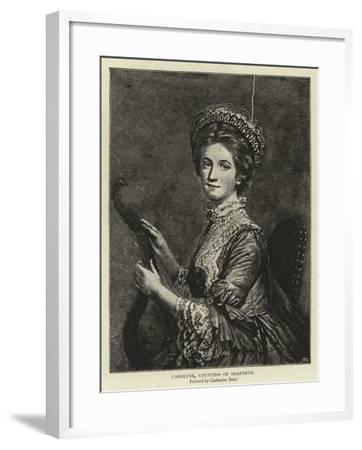 Caroline, Countess of Seaforth--Framed Giclee Print