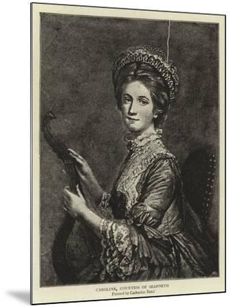 Caroline, Countess of Seaforth--Mounted Giclee Print