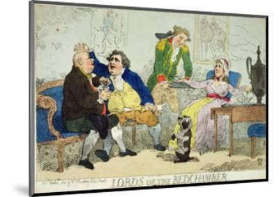 Lords of the Bedchamber, 1784--Mounted Giclee Print