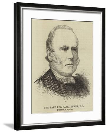 The Late Reverend Jabez Burns--Framed Giclee Print