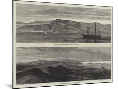 British War Ships Off Boulair--Mounted Giclee Print