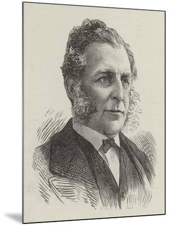 Sir Michael Roberts Westropp--Mounted Giclee Print
