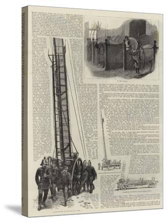 The Metropolitan Fire Brigade--Stretched Canvas Print