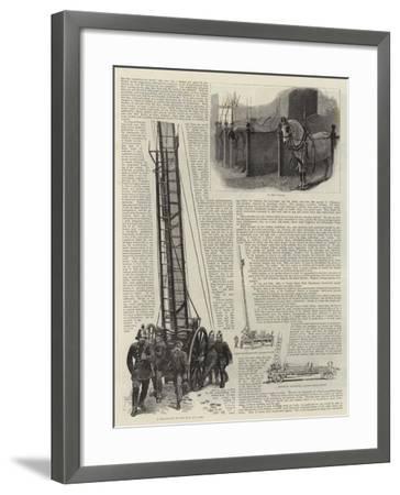 The Metropolitan Fire Brigade--Framed Giclee Print