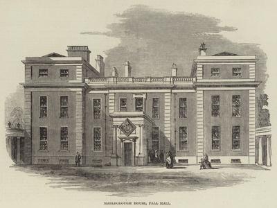 Marlborough House, Pall Mall--Framed Giclee Print