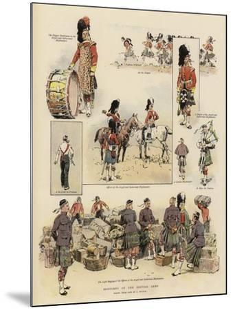Sketches of the British Army--Mounted Giclee Print