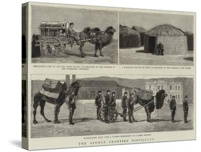 The Afghan Frontier Difficulty--Stretched Canvas Print