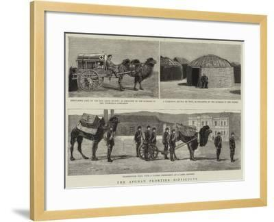 The Afghan Frontier Difficulty--Framed Giclee Print