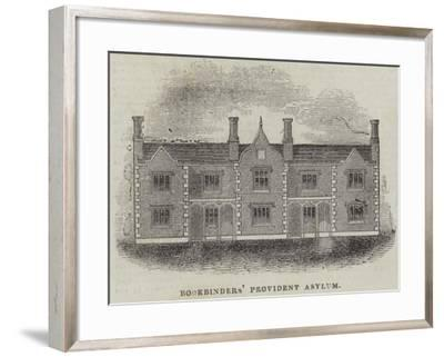 Bookbinders' Provident Asylum--Framed Giclee Print