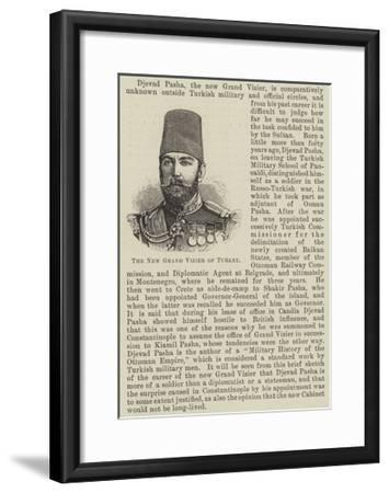 The New Grand Vizier of Turkey--Framed Giclee Print