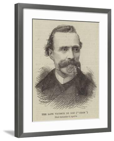 The Late Vicomte De Noe, Cham--Framed Giclee Print