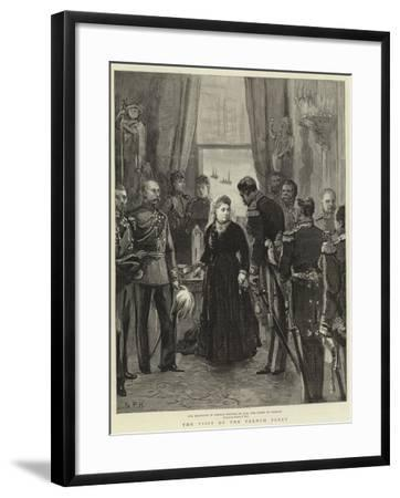 The Visit of the French Fleet--Framed Giclee Print