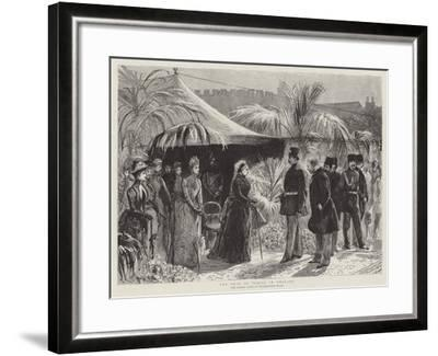 The Shah of Persia in England--Framed Giclee Print