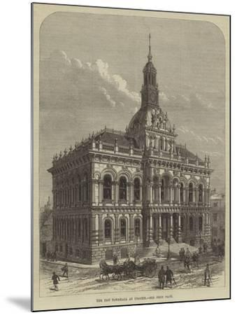 The New Townhall at Ipswich--Mounted Giclee Print