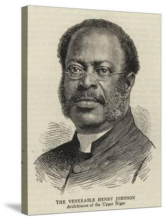 The Venerable Henry Johnson--Stretched Canvas Print