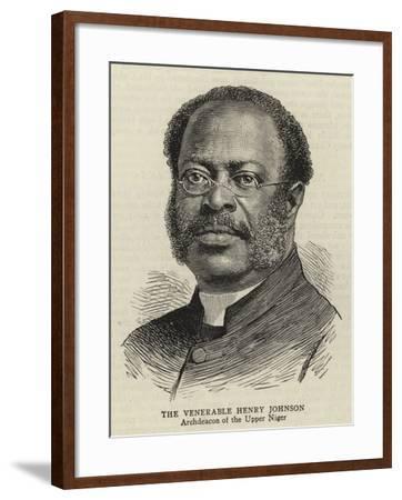 The Venerable Henry Johnson--Framed Giclee Print